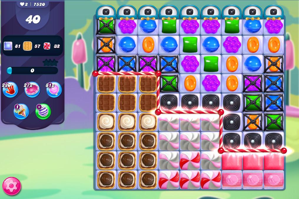 Candy Crush Saga level 7520
