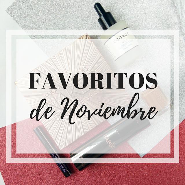 Favoritos de belleza de noviembre
