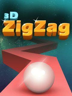 3D Zig Zag Java Game
