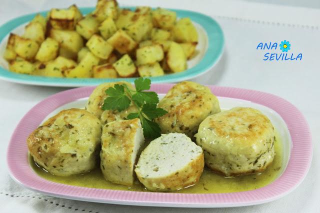 Albóndigas de pollo en salsa Ana Sevilla Cocina tradicional