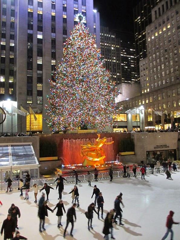 Rockefeller Christmas Tree New York