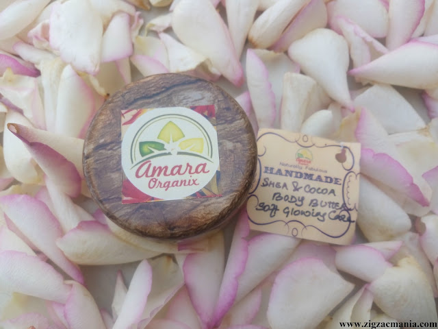 Amara Organix Shea & Cocoa Body Butter Review