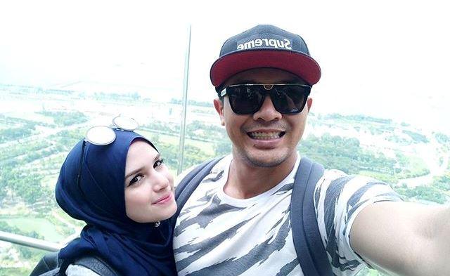 Saharul Ridzwan isteri honeymoon di Singapura, Indonesia (10 gambar)