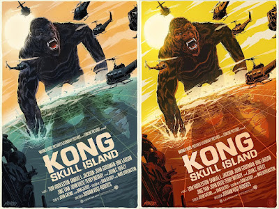 Kong: Skull Island Movie Poster Screen Print by Francesco Francavilla x Mondo