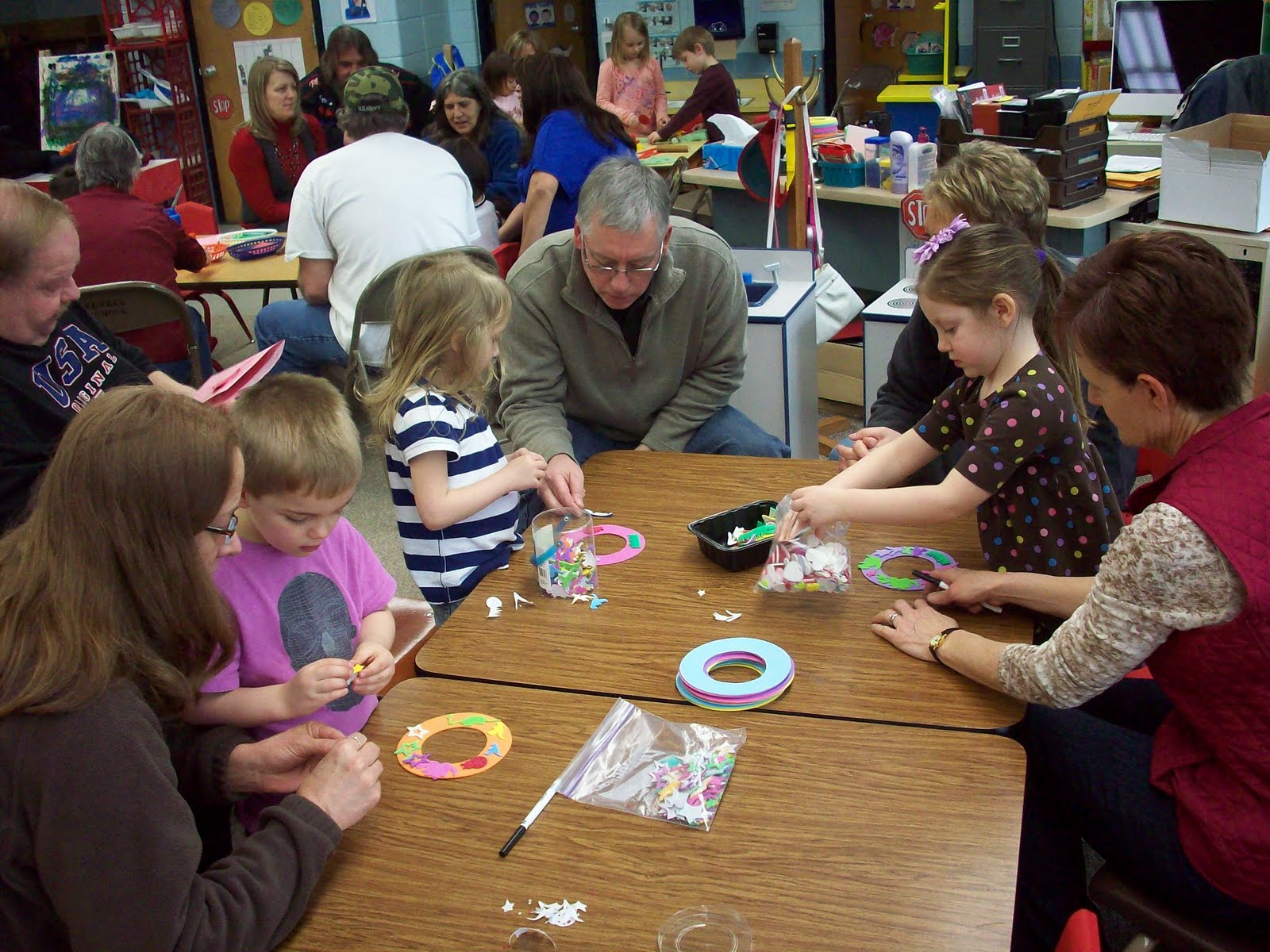 Newell Fonda Preschool Grandparents Day