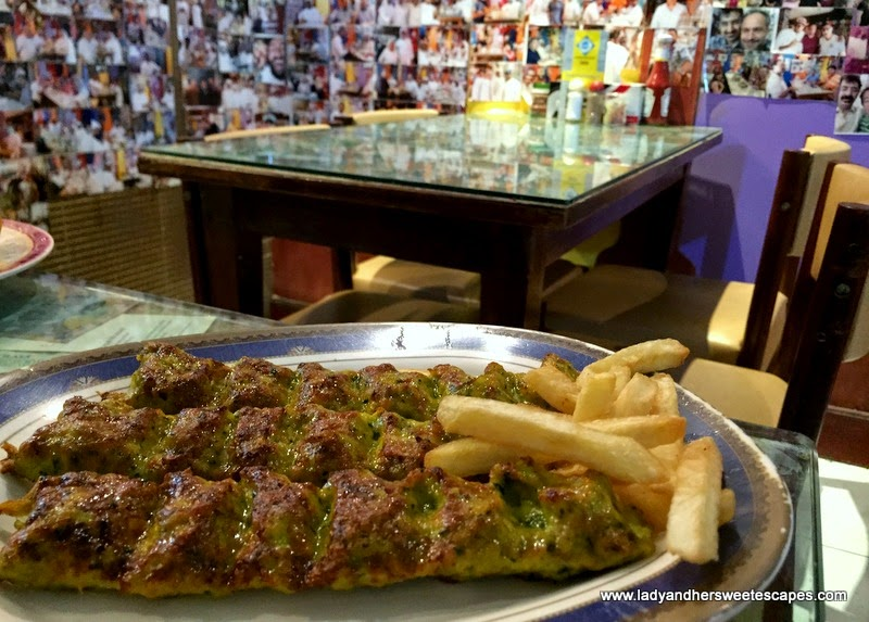 Kebab Koubideh at Ostadi Restaurant in Dubai