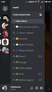 cara Menggunakan discord untuk PUBG Mobile