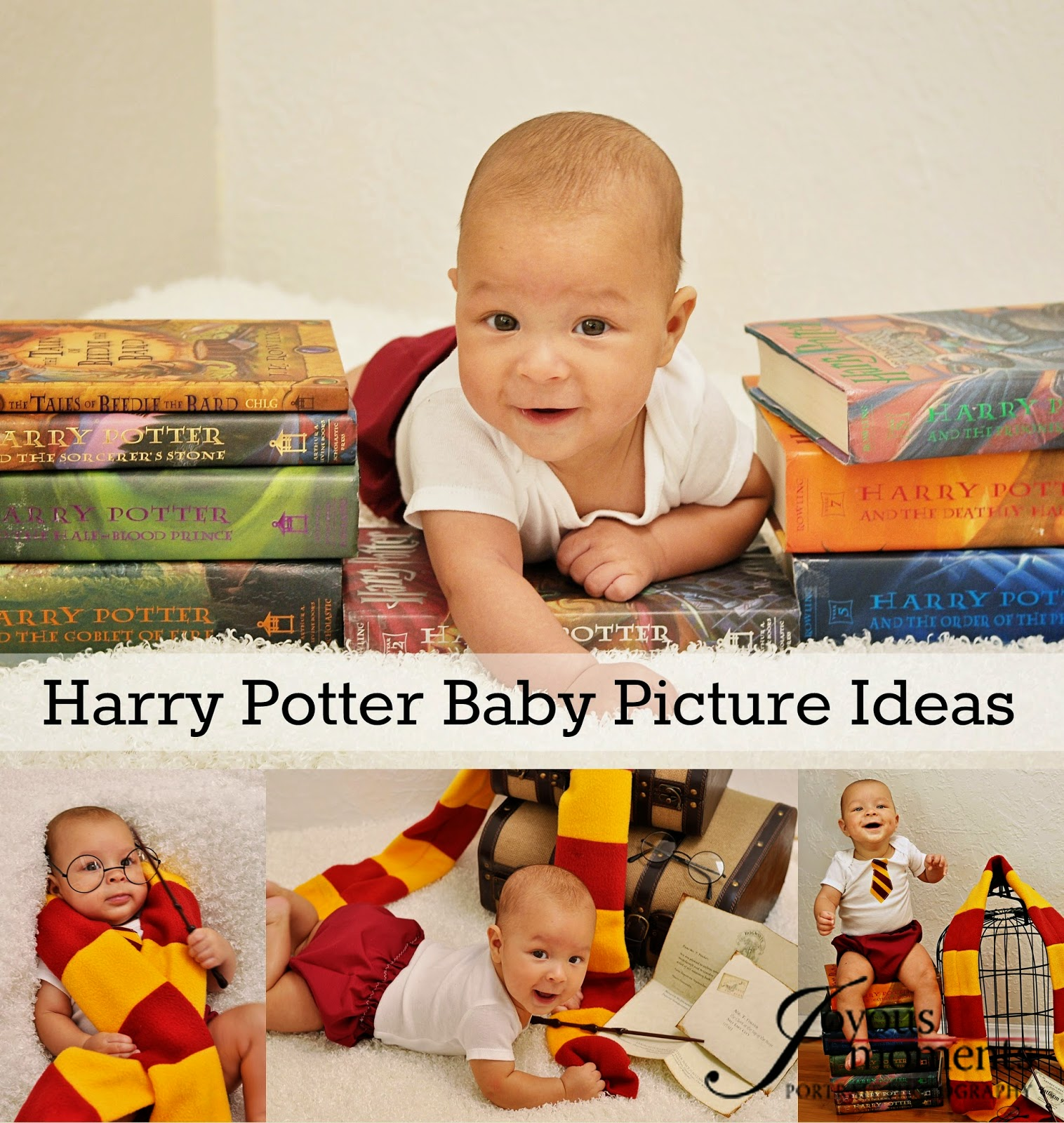 Housewife Eclectic: Harry Potter Baby Pictures Ideas
