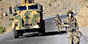 Gefangennahme von 16 türkischen Soldaten
