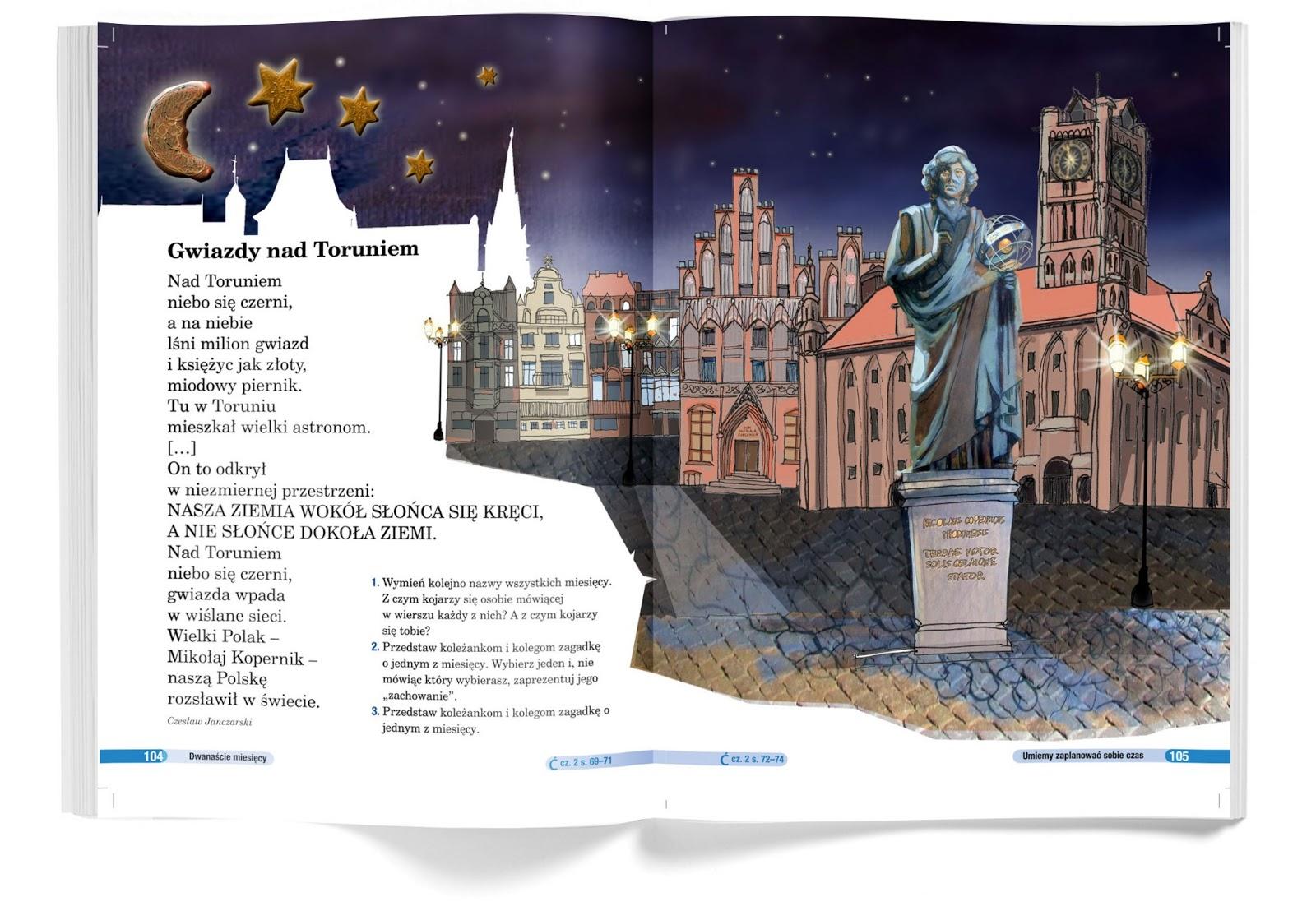 ilustracja dla dzieci nowa era Urbaniak ilustratorka kopernik toruń pastel crayon illustration for child book story poems