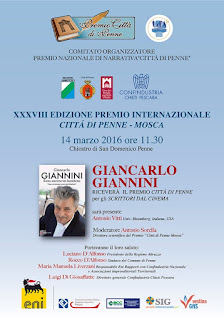 Premiazione di Giancarlo Giannini