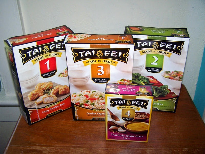 heidi's wanderings: Tai Pei Made To Order Asian Meals