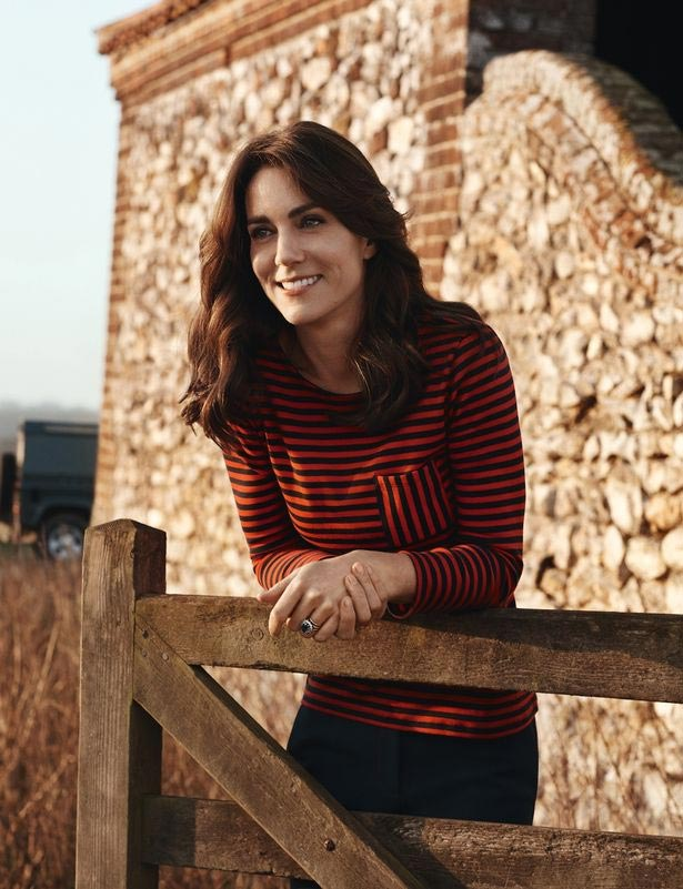 Photos: Kate Middleton Covers The Front Page Of Vogue Magazine