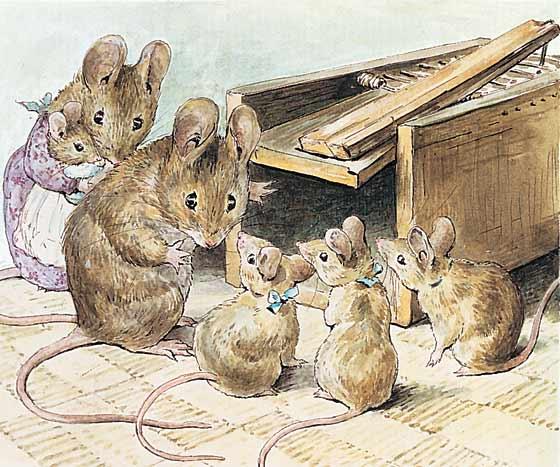 Pinzellades Al Món Els Ratolinets De Beatrix Potter Los