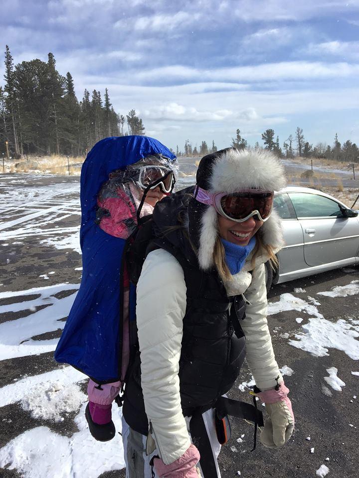 Snowshoeing With Kids Turn A Snow Day Into An Adventure Day