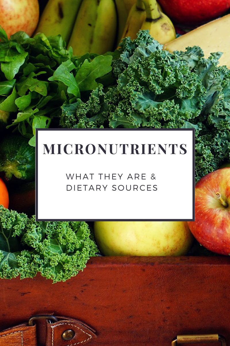 micro nutrients The elements of the body which makes it structurally acceptable and internally well-maintained are called nutrients there are two categories of nutrients.