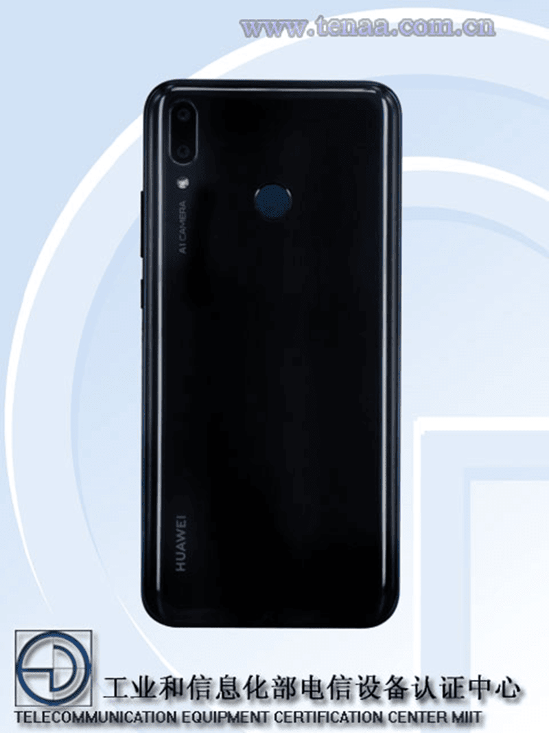 Glass back design, dual cameras