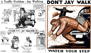 don't jaywalking