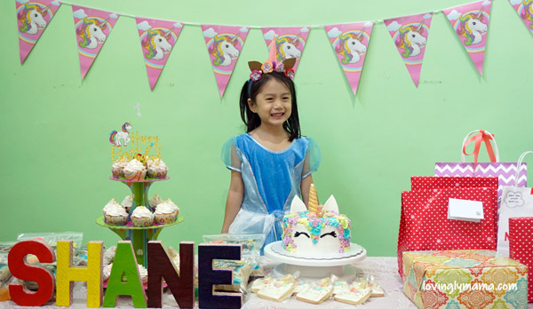 Shane - dress up play - unicorn - cinderella - birthday party