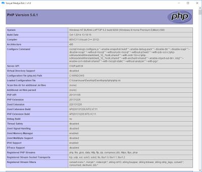 PHP Desktop İlk Uygulama