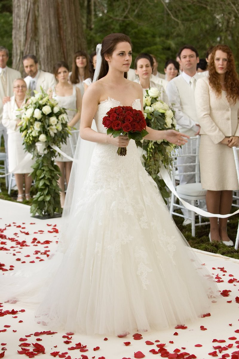 Twilight Saga Wedding Dress 36 Elegant Breaking Dawn Part