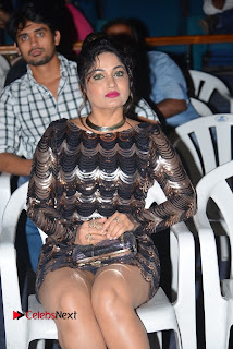 Actress Madhavi Latha Pictures in Short Dress at On Mona Birthday Premiere 0050