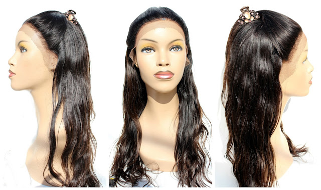 Custom Capless Lace Frontal Wig Made From Scratch