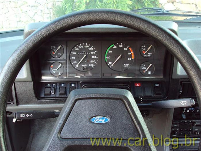 Ford Del Rey Ghia 1.8 1989 - painel