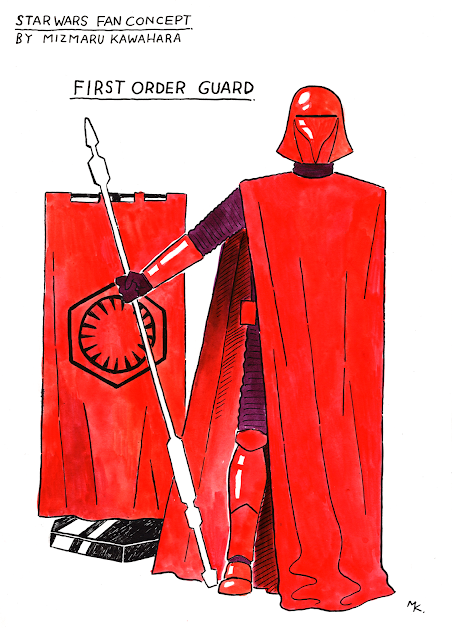 Star Wars Fan Consept : First Order Guard