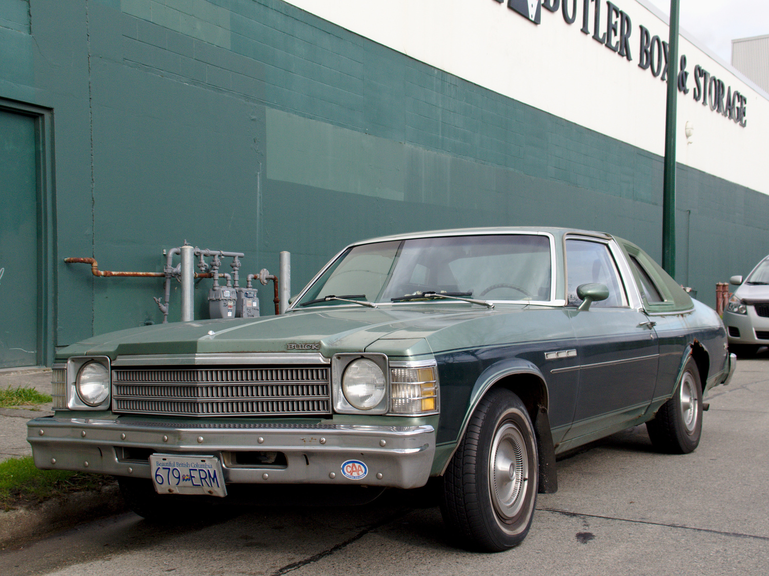 old parked cars vancouver 1978 buick skylark. Black Bedroom Furniture Sets. Home Design Ideas