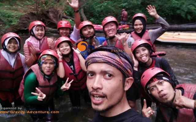 Seruuu Rafting di Bandung Bersama Gravity Adventure Pangalengan