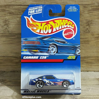 HOT WHEELS CAMARO Z28 BLUE COLLECTOR NO 1078