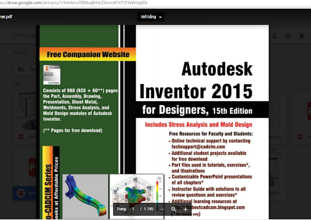 Free Download Books For Autodesk Inventor Designers