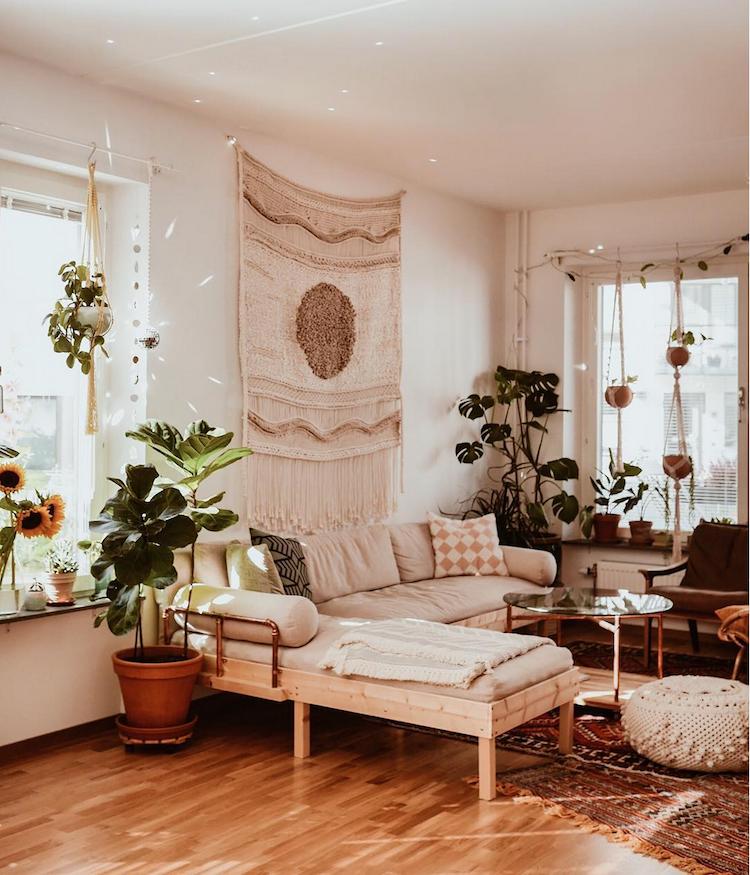 The Cosy Stockholm Domicile Of A Macramé Artist