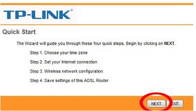 Cara Seting Modem TP-LINK, Modem Telkom Speedy (1)