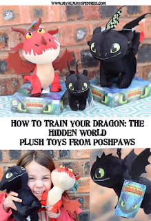 How to Train Your Dragon: The Hidden World  - Plush Toys #SentforReview