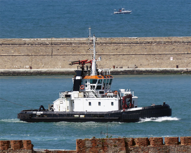 Tug Cte Contini, port of Livorno