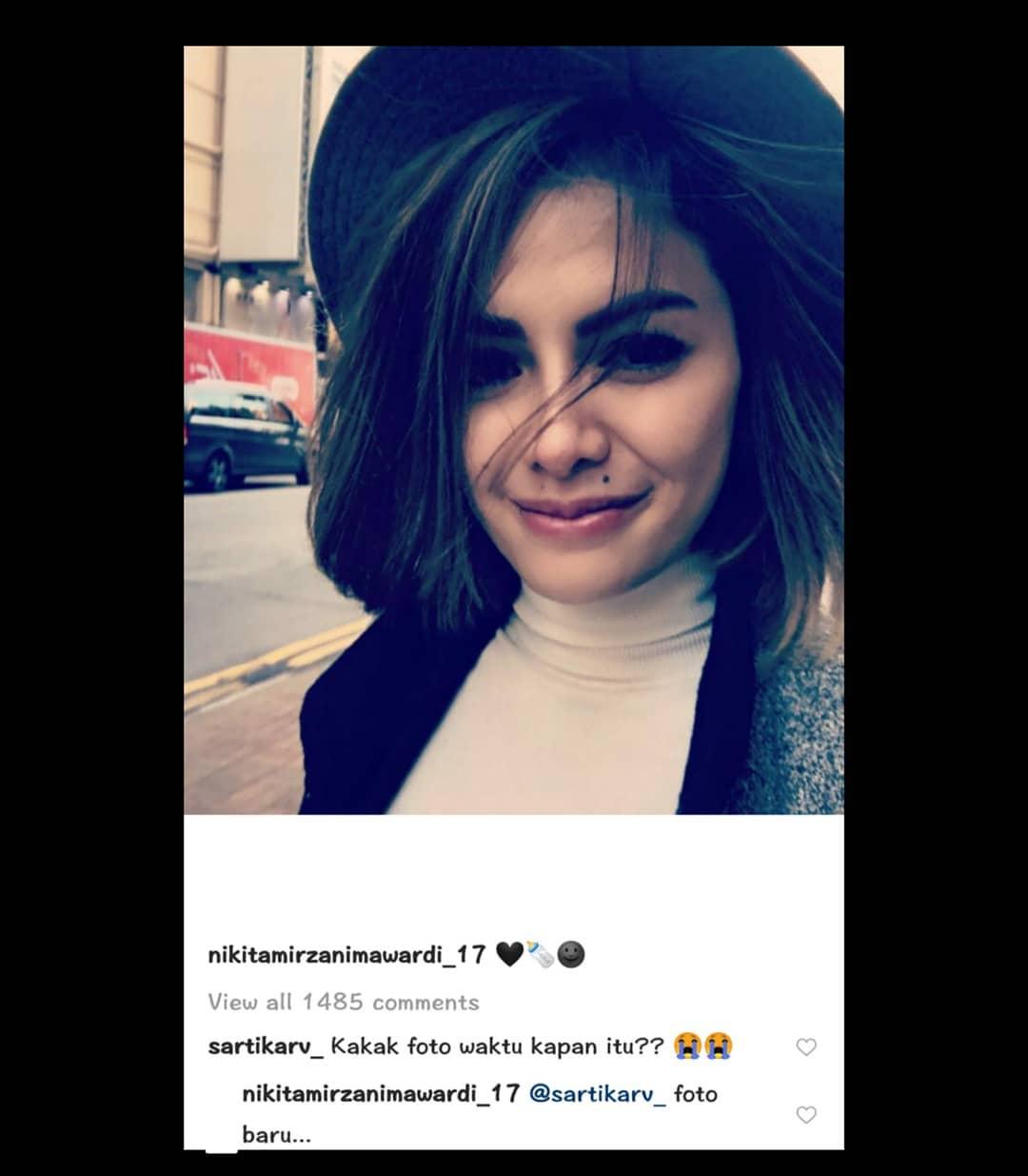 Nikita Mirzani Lepas Hijab