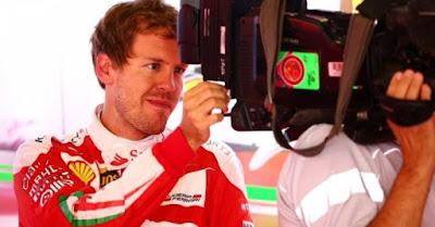 Seb. Vettel with camera