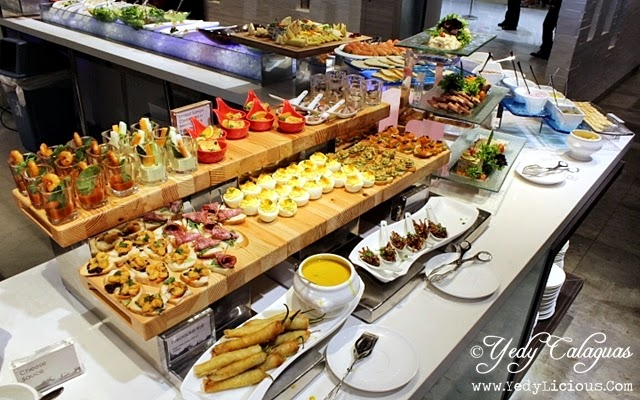 Selections of Appetizers at Vikings Buffet SM Megamall