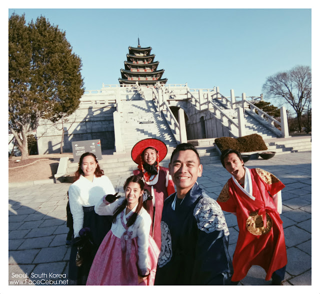 The royal family at National Folk Museum of Korea