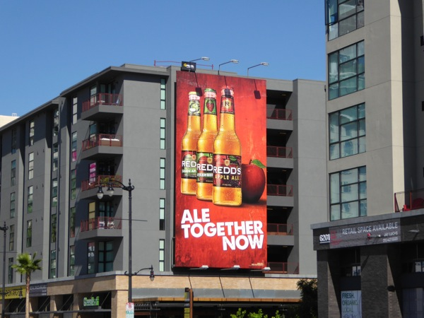 Redds Ale Together Now billboard