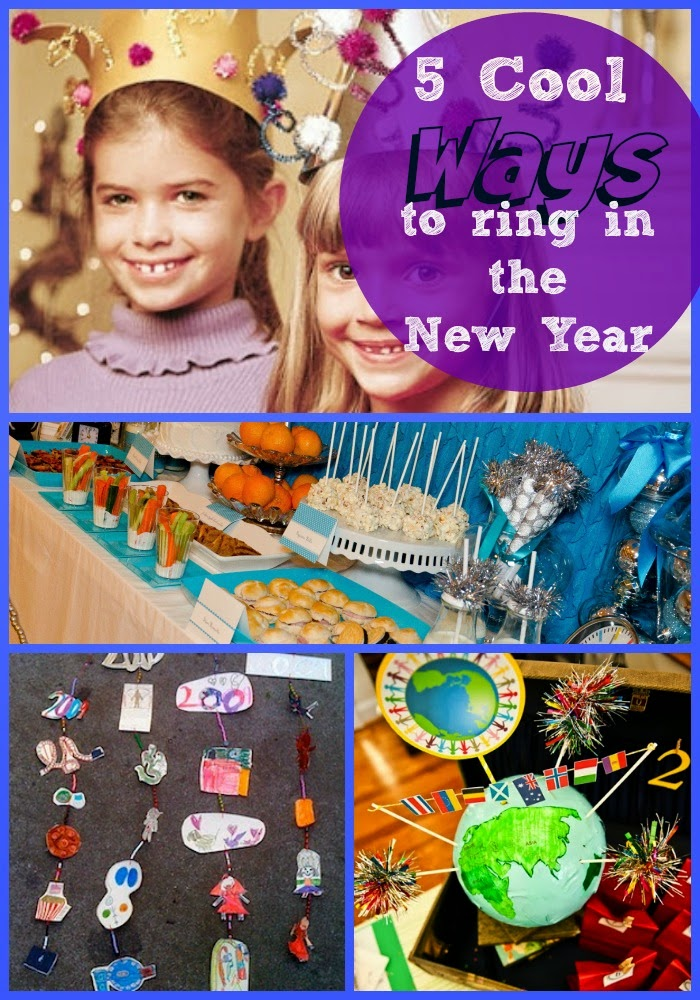 have the best New Year's Eve Party Celebration with Kids