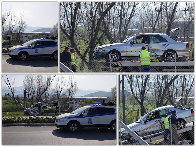 Εκτροπή οχήματος με τραυματισμό 44χρονης