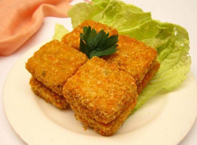 Resep Nugget Tempe Sayuran Sederhana, Cara Membuat Nugget Tempe Sederhana