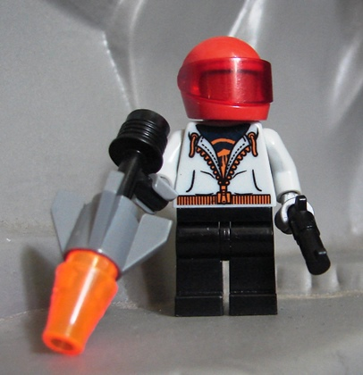 Toyriffic: Red Hood LEGO Minifigure MOC
