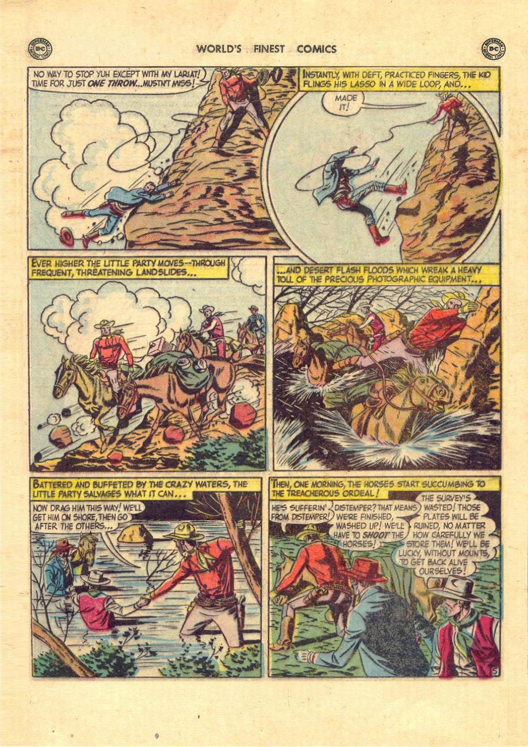 Read online World's Finest Comics comic -  Issue #52 - 19
