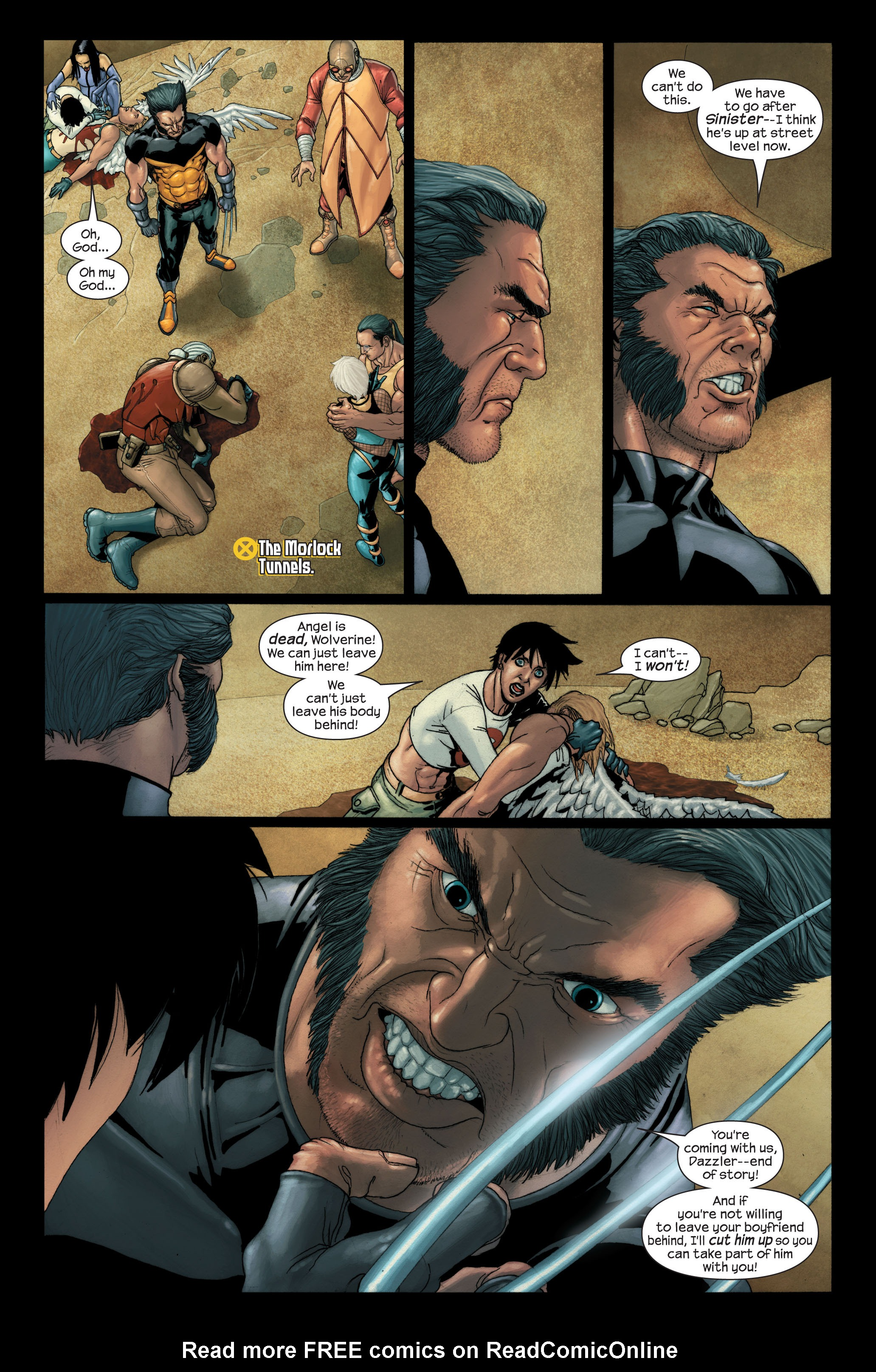 Read online Ultimate X-Men comic -  Issue #91 - 4