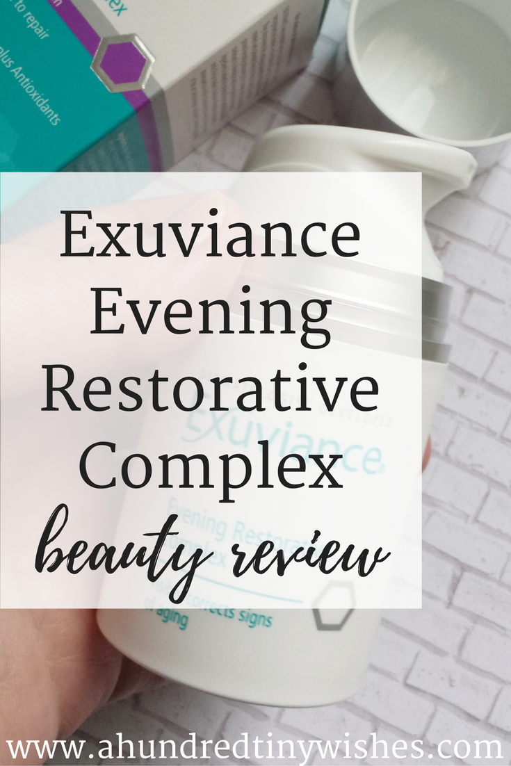 Exuviance Evening Restorative Complex Review