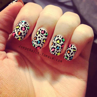 Ideas de Uñas animal print 2017